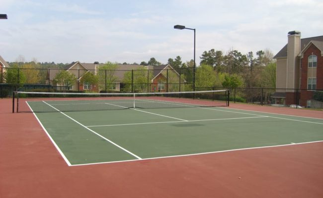 The Grove tennis court